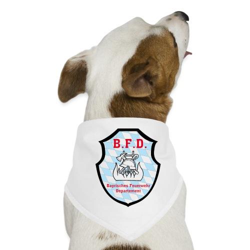 Inoffizielles bayrisches Feuerwehrabzeichen - Hunde-Bandana