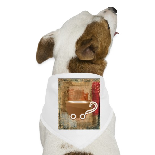 vintage coffee - Hunde-Bandana