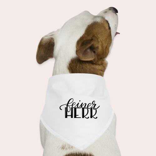 Feiner Herr - Hunde-Bandana