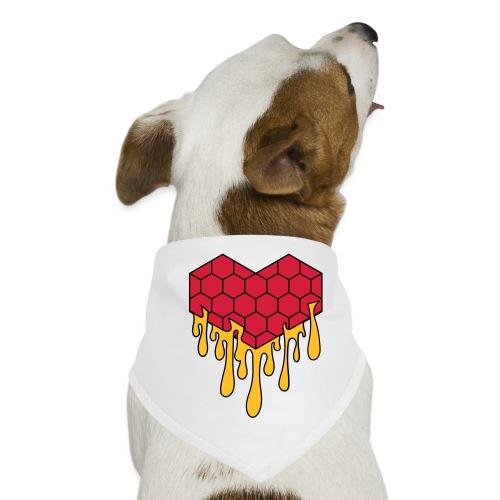 Honey heart cuore miele radeo - Bandana per cani