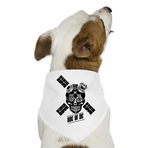 skull riding ride or die - Bandana pour chien