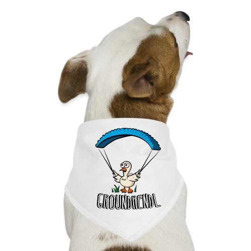 Groundhendl Groundhandling Hendl Paragliding Huhn - Hunde-Bandana
