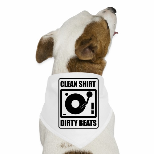 Clean Shirt Dirty Beats - Honden-bandana