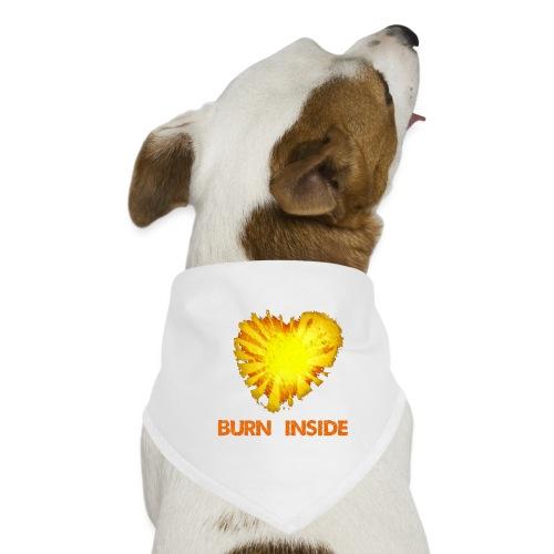 Burn inside - Bandana per cani