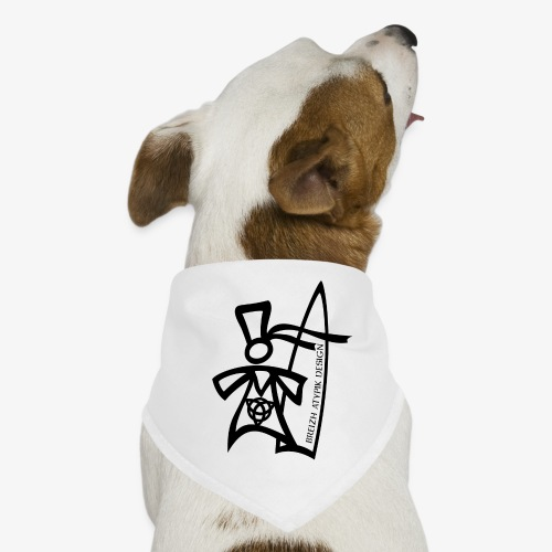 Surf Bigoud Black - Bandana pour chien
