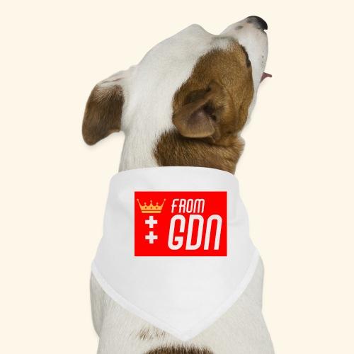 #fromGDN - Bandana dla psa