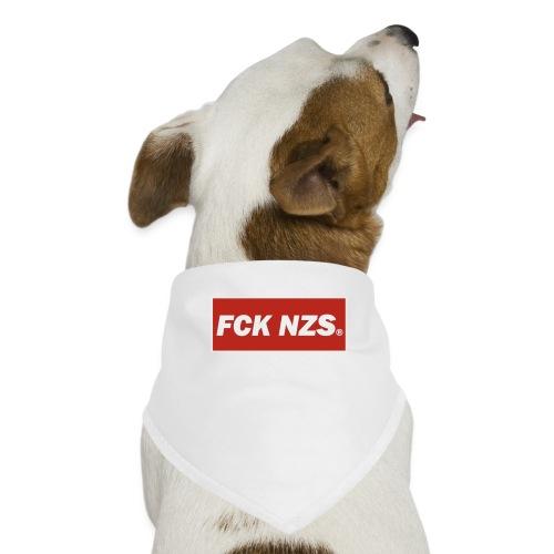 A la mierda los nazis - Pañuelo bandana para perro