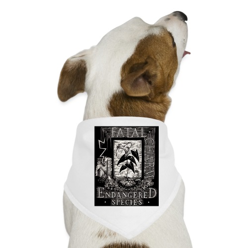fatal charm - endangered species - Dog Bandana