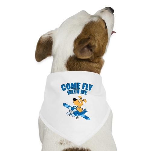COME FLY WITH ME - HUND - FLUGZEUG - TIER - Hunde-Bandana