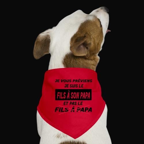 VISUEL,DESIGN,MOTIF HUMOUR ENFANT/BEBE - Bandana pour chien