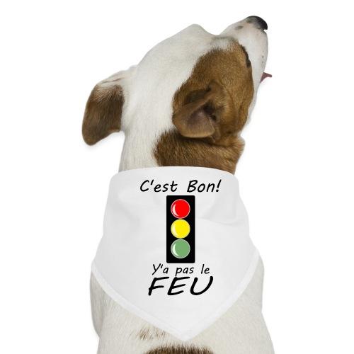 pas le feu tricolore - Bandana pour chien