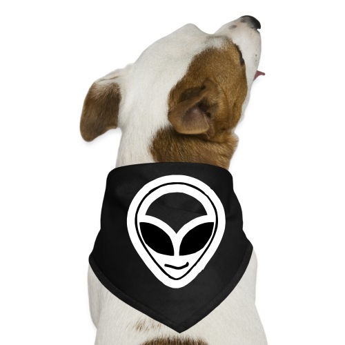 Alien mask - Dog Bandana