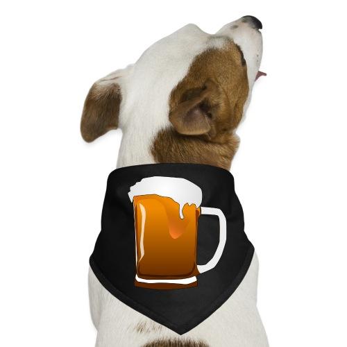 Cartoon Bier Geschenkidee Biermaß - Hunde-Bandana