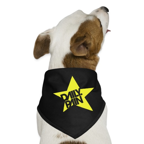 daily pain star - Bandana dla psa
