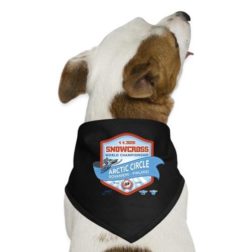 MM Snowcross 2020 virallinen fanituote - Koiran bandana