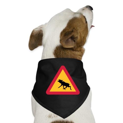 Warnung Elch! Älg! Moose! Schweden Sweden (vektor) - Hunde-Bandana