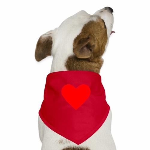 Kahvikuppi - Sydän - Koiran bandana