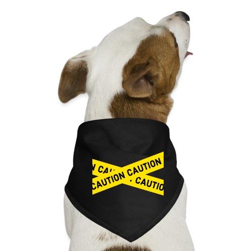caution - Hunde-Bandana