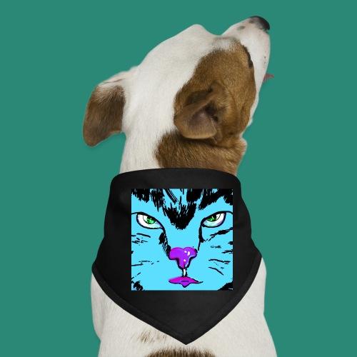 Der blaue Kater - Hunde-Bandana