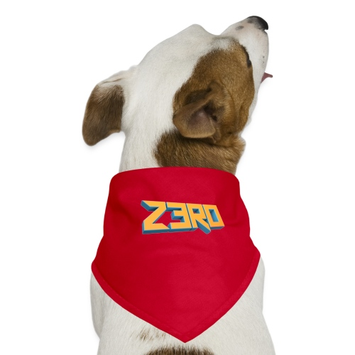 The Z3R0 Shirt - Dog Bandana