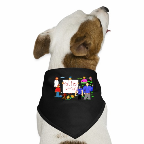 Snthetik-Gruppenbild (Neu) - Hunde-Bandana
