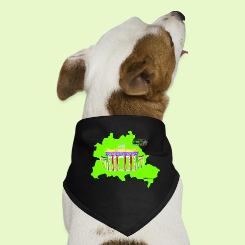 Berlin ist grün und bunt / BerlinLightShow - Hunde-Bandana