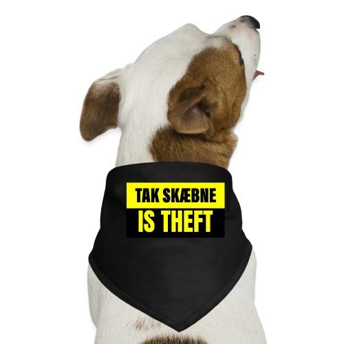 TAXATION IS THEFT - Bandana til din hund