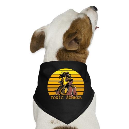 Toxic Summer - Pañuelo bandana para perro