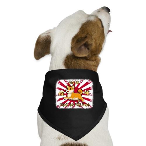 2018 The Year of the Dog - Bandana dla psa