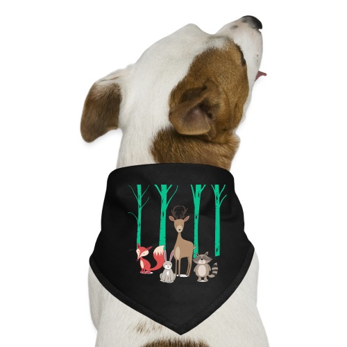 Las body dziecko - Bandana dla psa