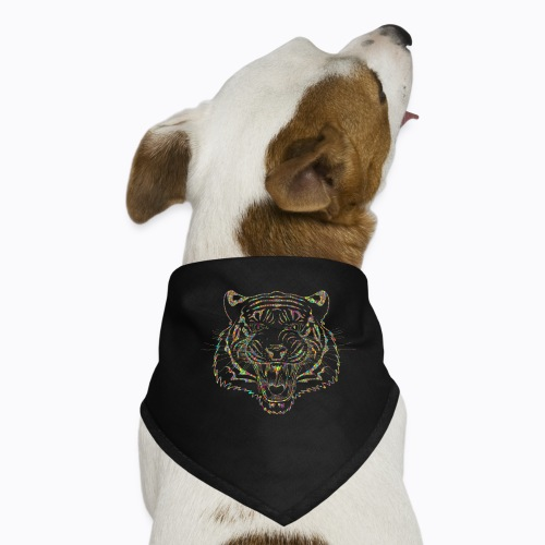 tiger colors - Dog Bandana