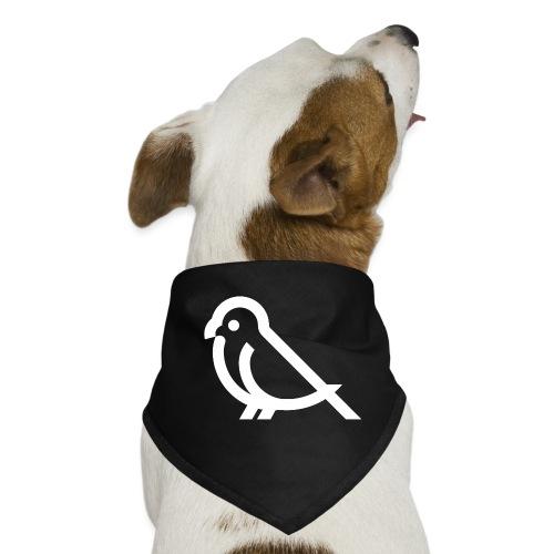 bird weiss - Hunde-Bandana