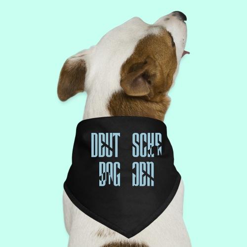 Jackenmotiv Doggenschrif - Hunde-Bandana