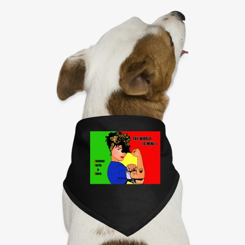FFF strong & proud woman - Dog Bandana