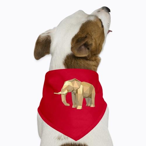 elephant geometric - Dog Bandana