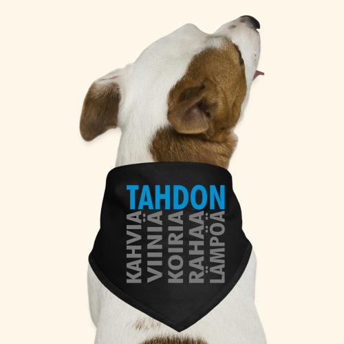 Tahdon - Koiran bandana