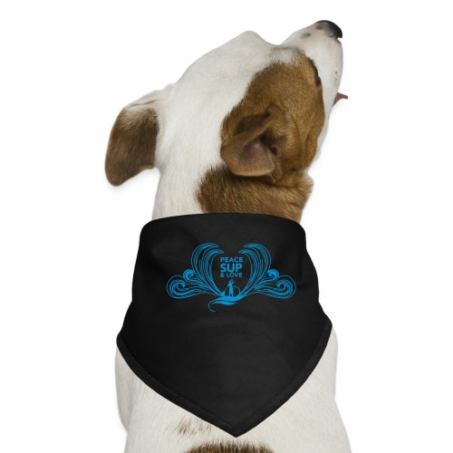 Peace SUP and love 8 - Bandana pour chien