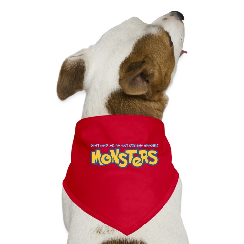 Monsters - Dog Bandana