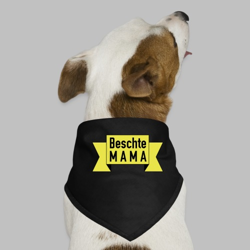 Beschte Mama - Auf Spruchband - Hunde-Bandana