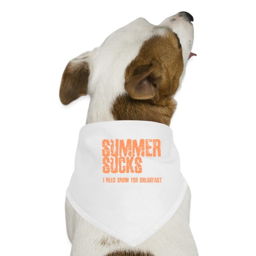 SUMMER SUCKS - Honden-bandana