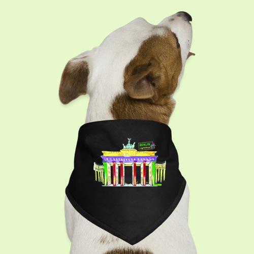 Berlin/Brandenburger Tor/PopArt/BerlinLightShow - Hunde-Bandana