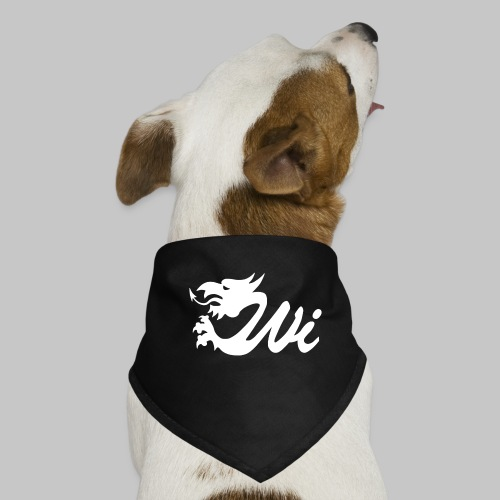Wales Interactive Logo Dragon White - Dog Bandana