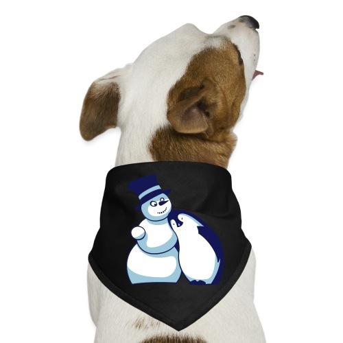 Schneemann und Pinguin - Hunde-Bandana