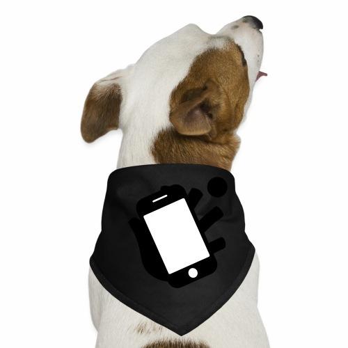 Smartphone-Tennis Logo Print - Hunde-Bandana