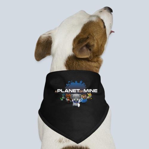 logo planetofmine dark HD - Bandana pour chien
