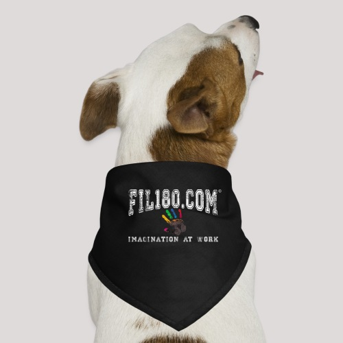FIL180 Hoody WHITE - Dog Bandana
