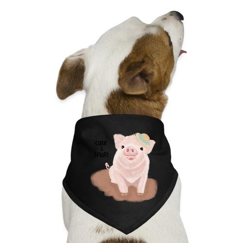 Cute & Smart Pig - Dog Bandana