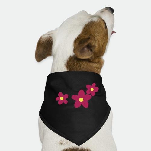 Three Flowers - Dog Bandana