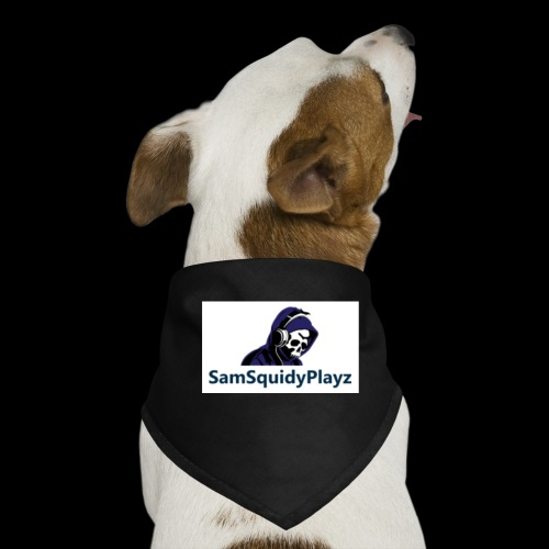 SamSquidyplayz skeleton - Dog Bandana