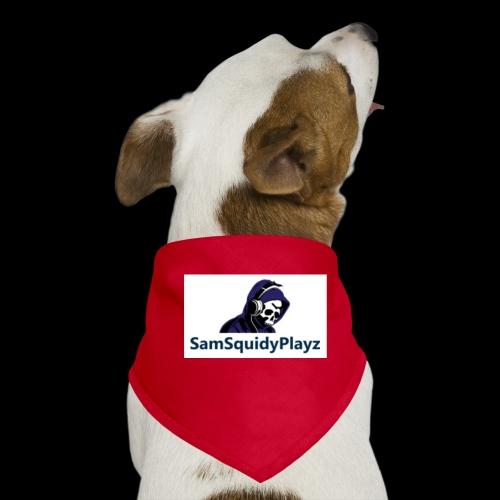 SamSquidyplayz skeleton - Dog Bandana